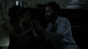 On the Inside- Connie refuses to leave without Virgil- AMC, The Walking Dead