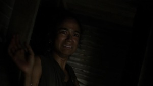 On the Inside- Connie running through the mansion- AMC, The Walking Dead