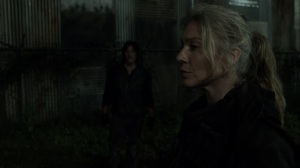 On the Inside- Leah and Daryl see Frost as a walker- AMC, The Walking Dead