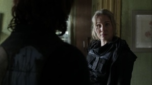 On the Inside- Leah warns Daryl to not piss off Carver- AMC, The Walking Dead