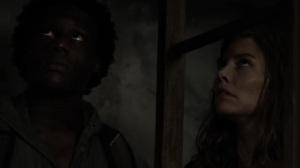 On the Inside- Maggie, Elijah, Negan, and Gabriel hide- AMC, The Walking Dead