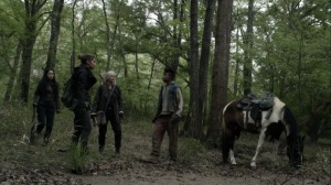 On the Inside- Magna, Rosita, and Carol find Kelly- AMC, The Walking Dead