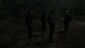 On the Inside- Magna, Rosita, Carol, and Kelly search for Connie- AMC, The Walking Dead