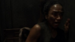 On the Inside- Savage chases Connie- AMC, The Walking Dead