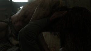 On the Inside- Savage tries to feed on Virgil- AMC, The Walking Dead