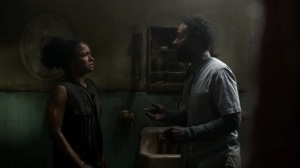 On the Inside- Virgil offers to search the mansion again- AMC, The Walking Dead