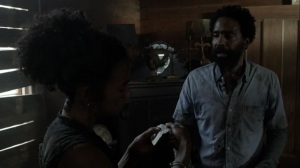 On the Inside- Virgil tells Connie that she needs to rest- AMC, The Walking Dead