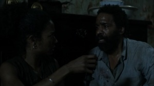 On the Inside- Virgil tells Connie to go on without him- AMC, The Walking Dead