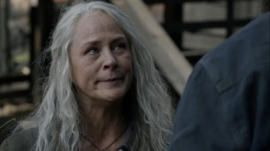 Out of the Ashes- Carol warns Aaron from going down a dark path- AMC, The Walking Dead