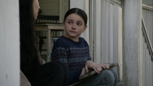 Out of the Ashes- Judith asks Rosita if it gets easier- AMC, The Walking Dead