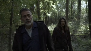 Out of the Ashes- Negan tells Maggie that they need to trust each other- AMC, The Walking Dead