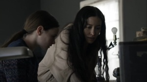 Out of the Ashes- Rosita and Judith receive a radio transmission from Eugene- AMC, The Walking Dead