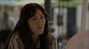 Out of the Ashes- Yumiko doesn't want to start something with Tomi- AMC, The Walking Dead