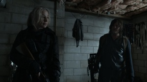 Promises Broken- Daryl asks what Leah is going to tell Pope- AMC, The Walking Dead