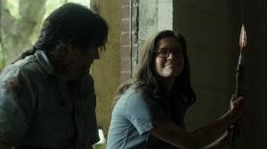 Promises Broken- Eugene asks fake Stephanie about Lance Hornsby- AMC, The Walking Dead