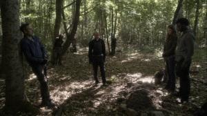 Promises Broken- Gabriel delivers a eulogy- AMC, The Walking Dead
