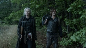 Promises Broken- Leah and Daryl discuss Pope- AMC, The Walking Dead