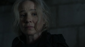 Promises Broken- Leah can't kill the dying woman- AMC, The Walking Dead