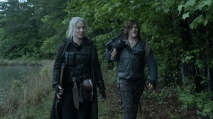 Promises Broken- Leah tells Daryl that Pope made her stronger- AMC, The Walking Dead