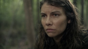 Promises Broken- Maggie asks Negan if he would do things differently- AMC, The Walking Dead