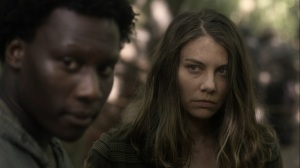 Promises Broken- Maggie hopes that she can keep her promise- AMC, The Walking Dead