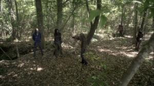 Promises Broken- Maggie wearing a Whisperer mask- AMC, The Walking Dead