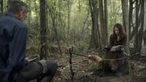Promises Broken- Negan and Maggie eat- AMC, The Walking Dead