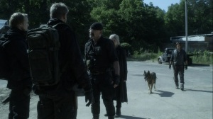 Promises Broken- Reapers give Pope an update- AMC, The Walking Dead