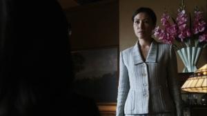 Promises Broken- Yumiko arrives for her meeting with Pamela Milton- AMC, The Walking Dead