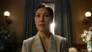 Promises Broken- Yumiko would like to speak with Governor Pamela Milton- AMC, The Walking Dead