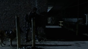 Rendition- Daryl and Dog hide from one of the Reapers- AMC, The Walking Dead