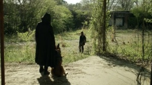Rendition- Daryl sees Dog with one of the Reapers- AMC, The Walking Dead