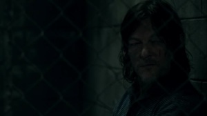 Rendition- Daryl tells Leah about the leader of his group- AMC, The Walking Dead