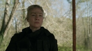 Rendition- Leah reveals herself to be a Reaper- AMC, The Walking Dead