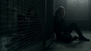 Rendition- Leah tells Daryl that one of the Reapers is dead- AMC, The Walking Dead